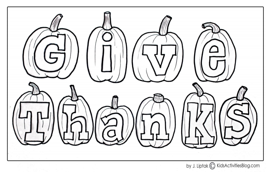 free christian thanksgiving coloring pages - photo#18